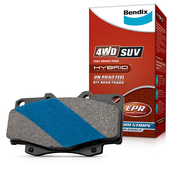 Bendix 4WD/SUV Disc Brake Pads image 1