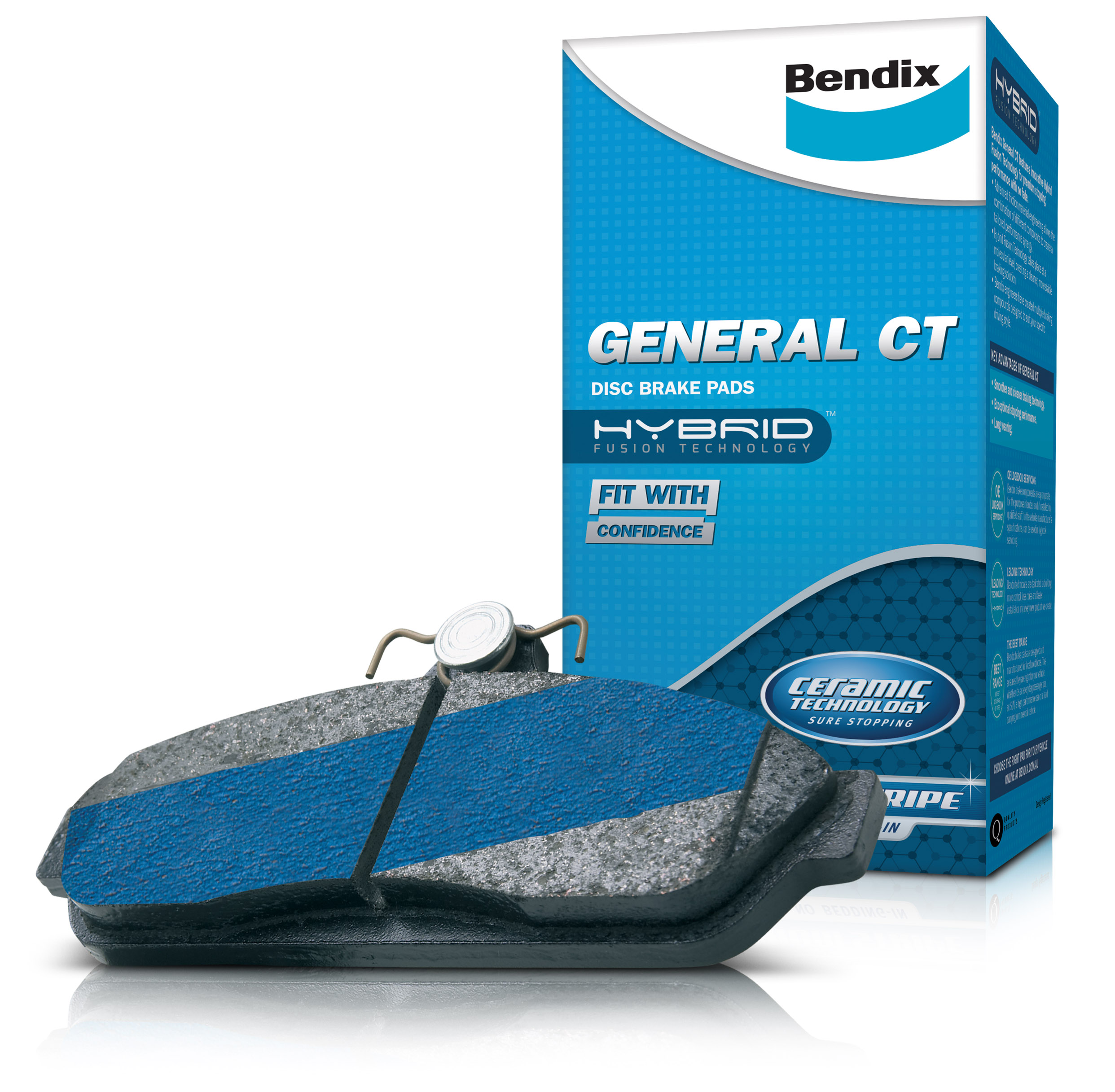 Bendix General CT Disc Pads image 2