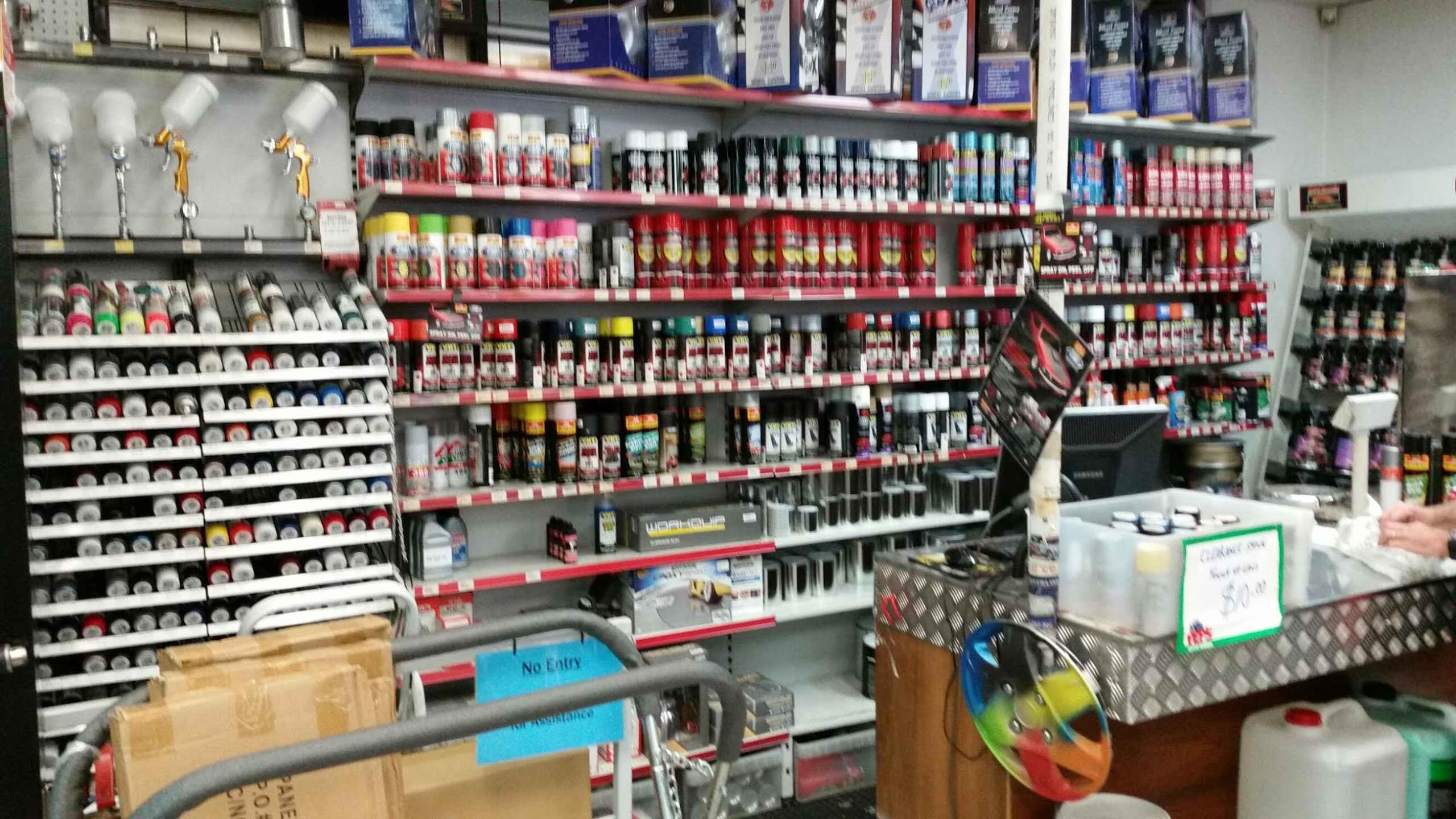 Auto Body Paint Supplies