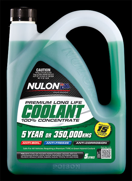 5 litre Nulon Green Longlife Coolant