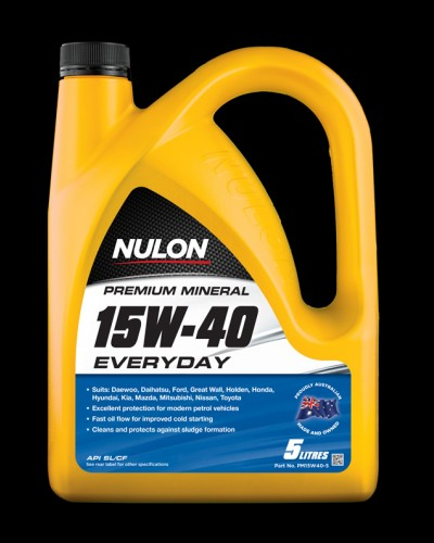 Nulon Premium Mineral 15w-40 Everyday Engine Oil